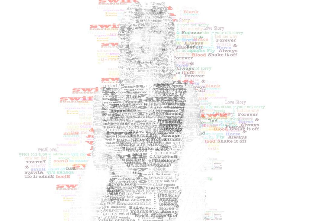 Taylor Swift Text Art By Sydscstllo On Deviantart