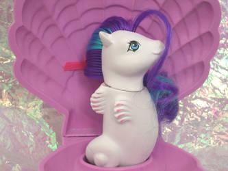 G1 MLP Custom Baby White Cap Sea Pony