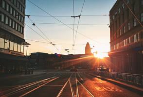 Morning in Helsinki