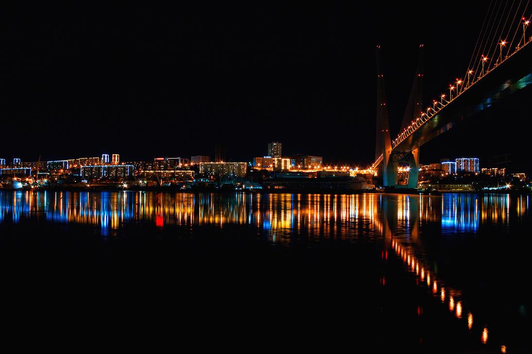 Night Vladivostok by kiritani-akira