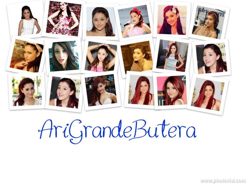 Ariana Grande Collage by AriGrandeButera on DeviantArt