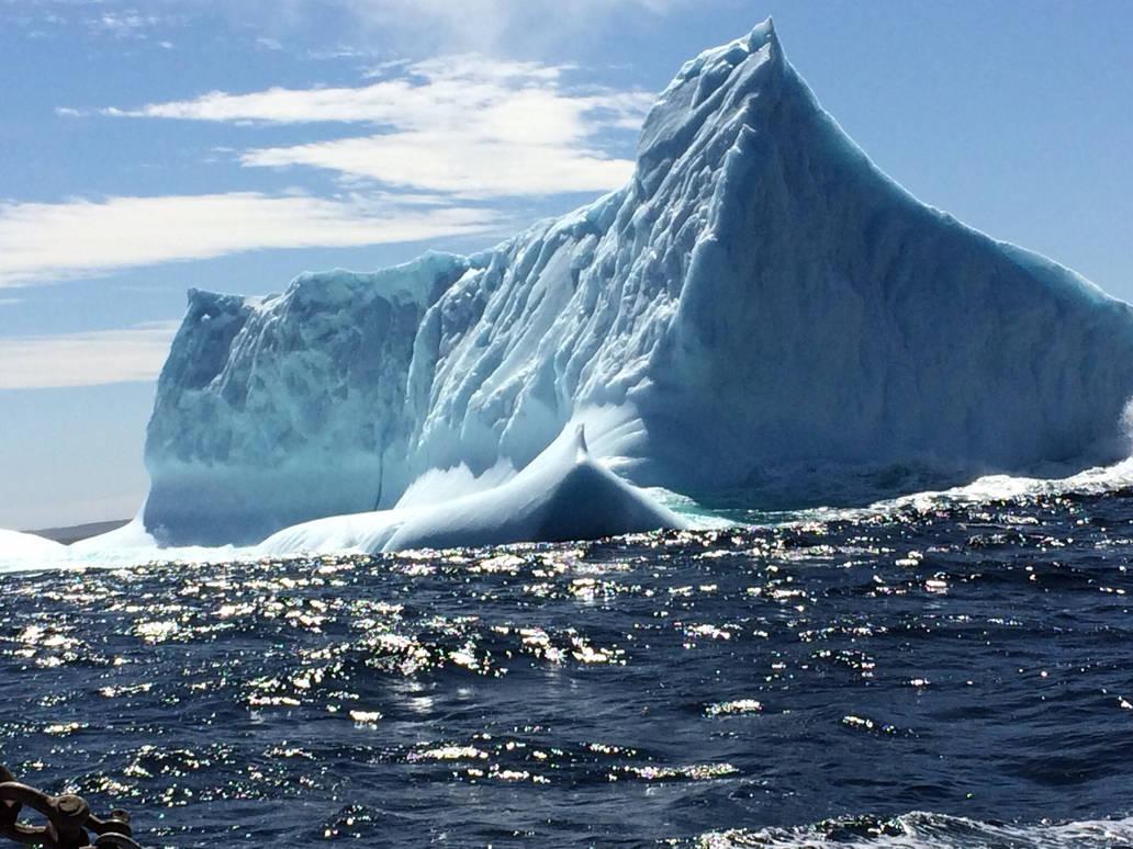 Ocean Ice Mountain  by jodi3330