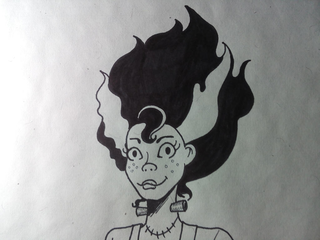 Fanart Scooby Doo Elsa Frankenstein by Iranea