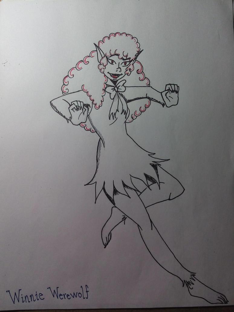 Fanart Scooby Doo Winnie Werewolf 1 by Iranea