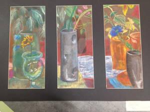 Flowers, Plants, and Mondrian piece