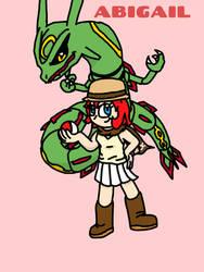 My Trainer is an Idiot fanart: Abigail