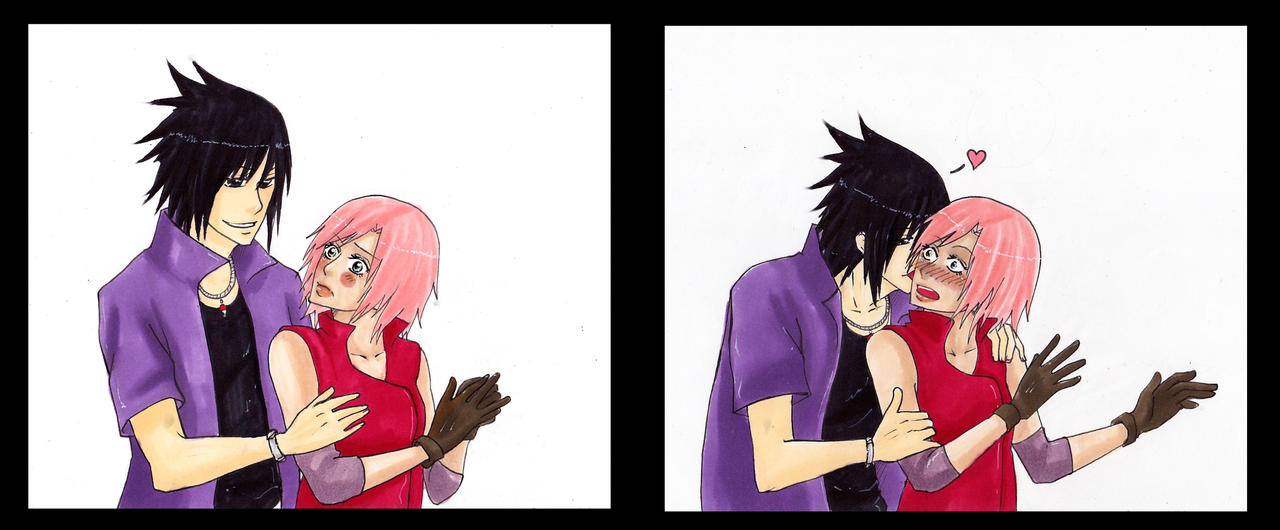 Road to Ninja - Sasuke and Sakura by Hanahi-chan