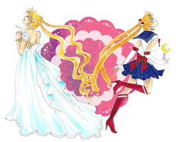 Sailor Moon Crystal by Hanahi-chan