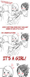 Congratulations! It's a girl! by Hanahi-chan