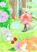 Remi | Shirubani Contest OC by Hanahi-chan