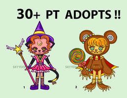 [1/2 OPEN] Adoptables Batch #2 by skyydiverr