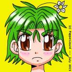 Chibi Gurasu Green by PepperLizard