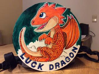 Luck Dragon by PepperLizard