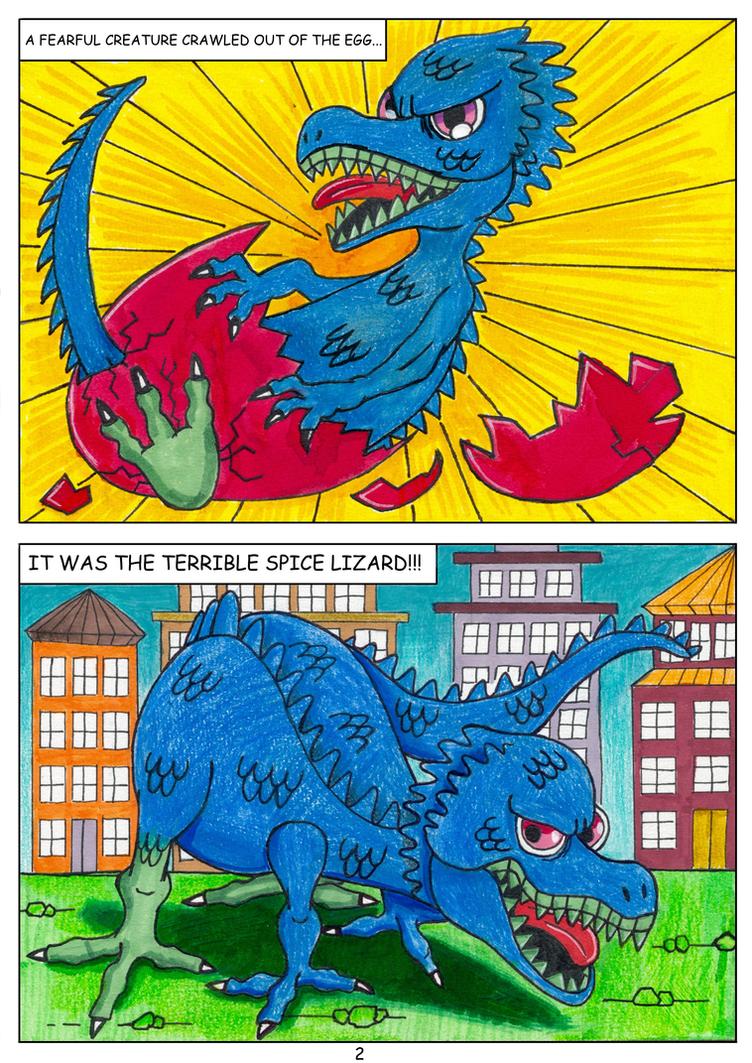 PepperLizard's Origin Story --- Page 2 by PepperLizard