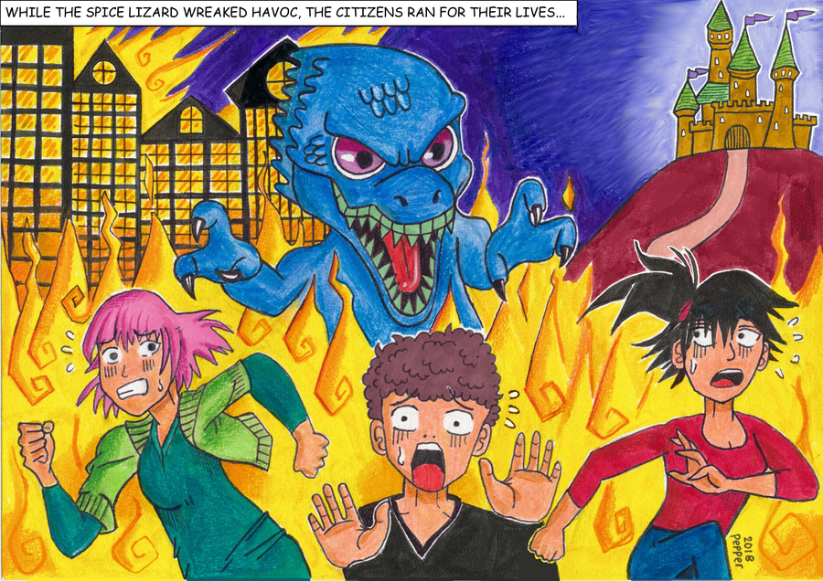 PepperLizard's Origin Story --- Page 4 by PepperLizard