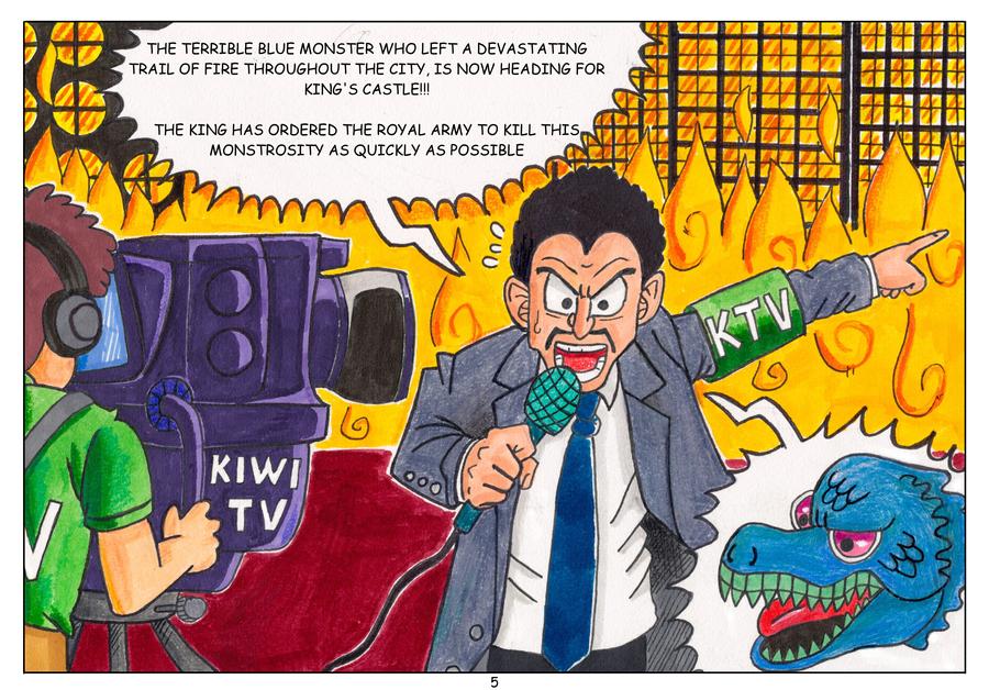 PepperLizard's Origin Story --- Page 5 by PepperLizard