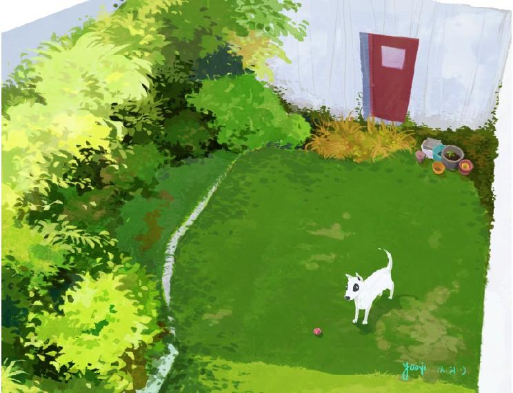 Garden by fantasyant