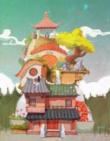 Siheyuan by fantasyant