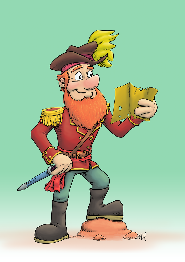 Pirate1 Small by Markside