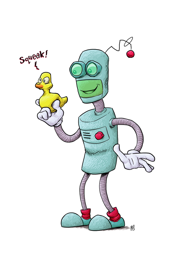 Robot by Markside