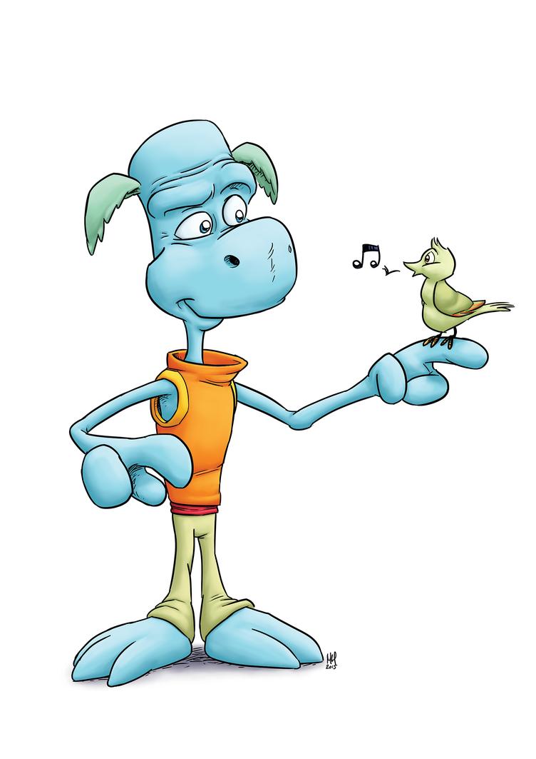 Lizard Guy by Markside