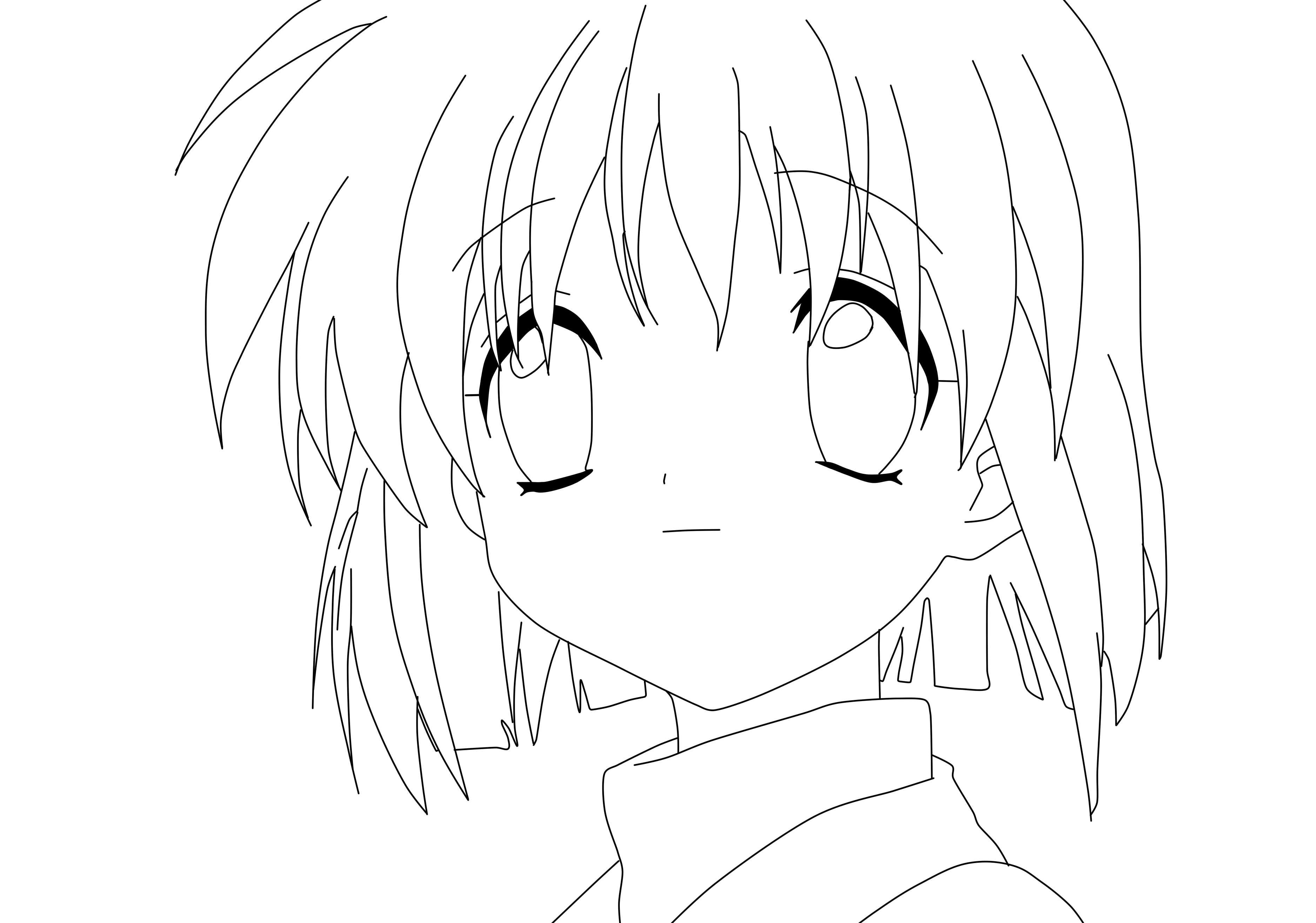 Male Anime Character Coloring Coloring Pages Anime Character Coloring Pages