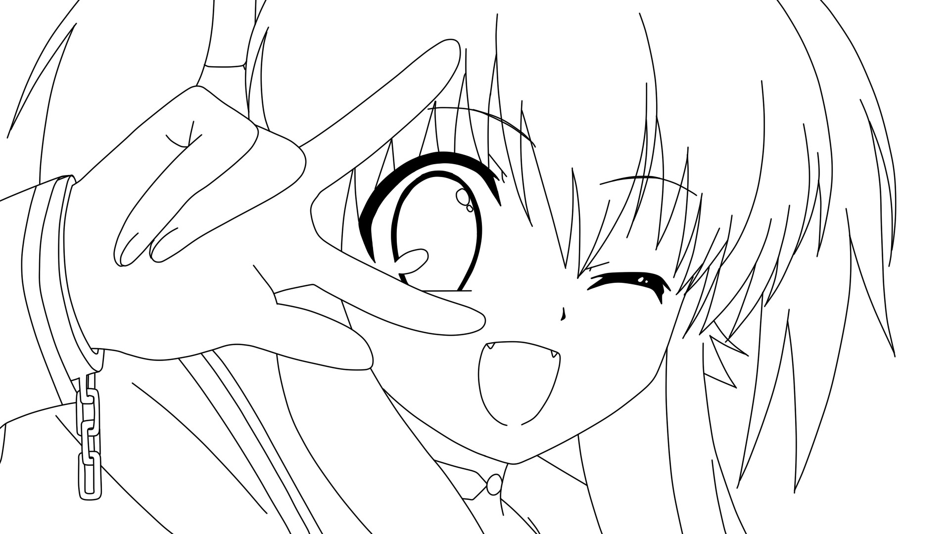 Vocaloid Group Coloring Pages Yui coloring page by