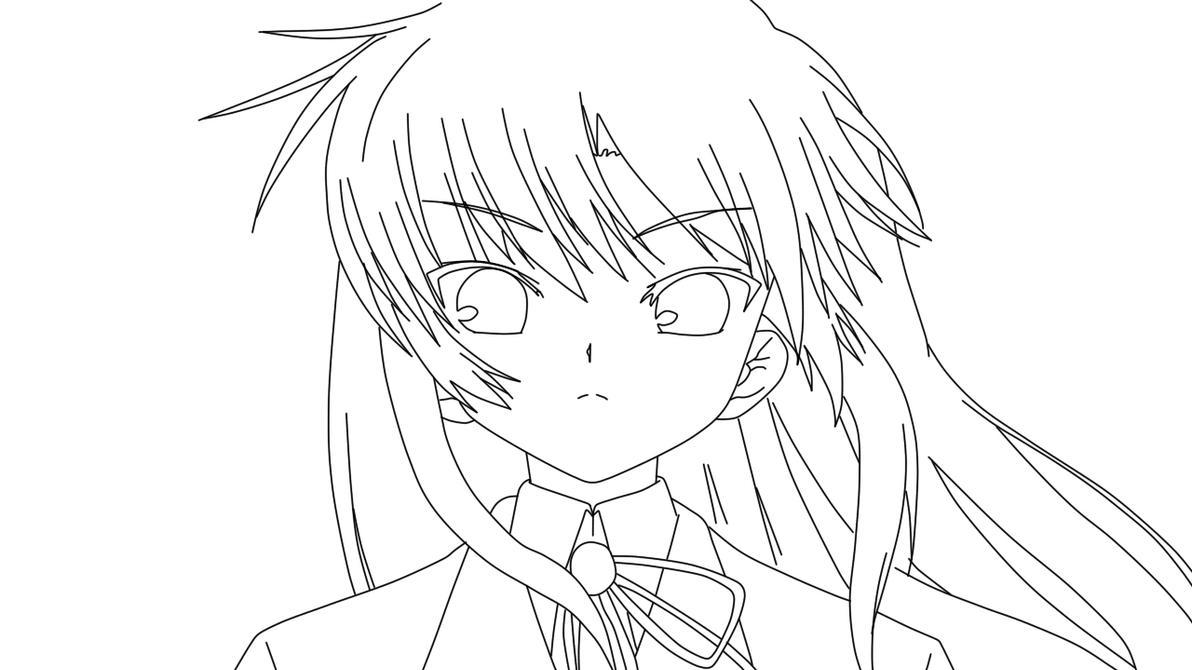 Kanade Tachibana Coloring Page By Doremefasoladedo