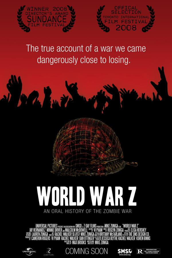 World War Z Movie poster by ZeeZedZee