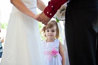 Lily at Mommy's Wedding by ZeeZedZee