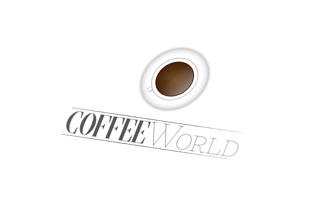 'Coffee World' Logo by Its-Meeee