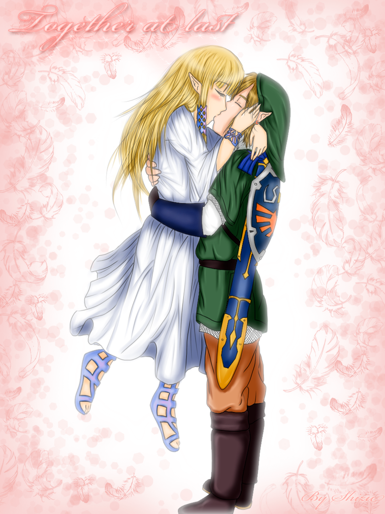 Together al last - Zelink by xRyuusei on DeviantArt Zelink Skyward Sword