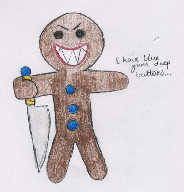 Evil Gingerbread Man by Lovlie on DeviantArt