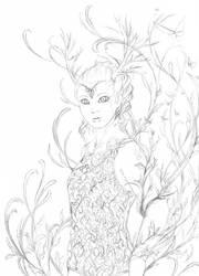 Swirls Sketch by firedaemon