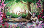Hummingbirds by firedaemon
