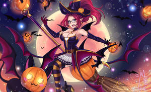 Bewitching Janna by MaiuLive