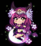 Elderwood Ahri Chibi
