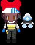 Apex Legends Pixel Art: Lifeline