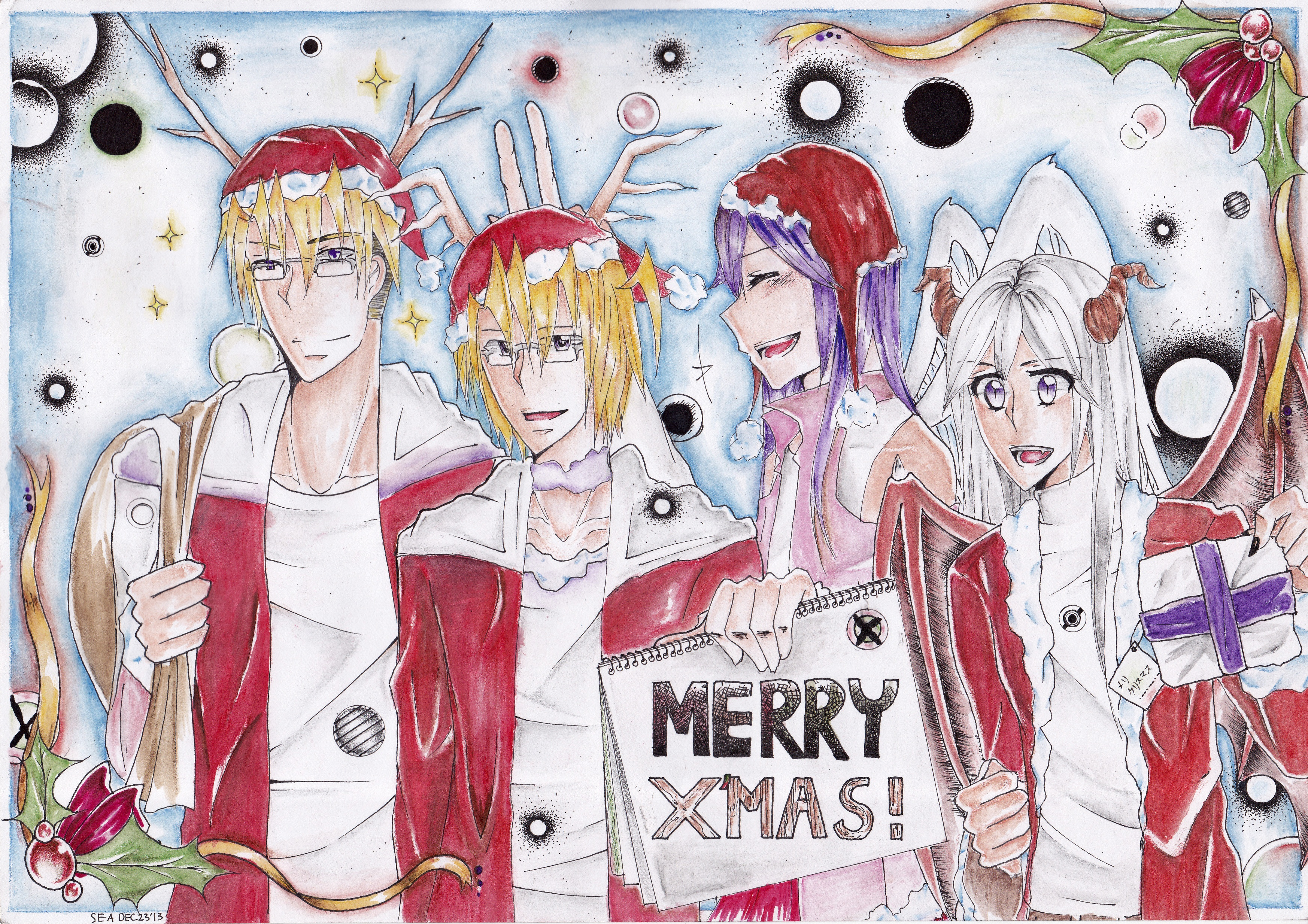 .:Merry christmas:. by MeganeMegao