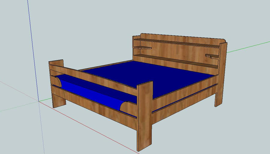 Homemade Queen Bed Frame Plans