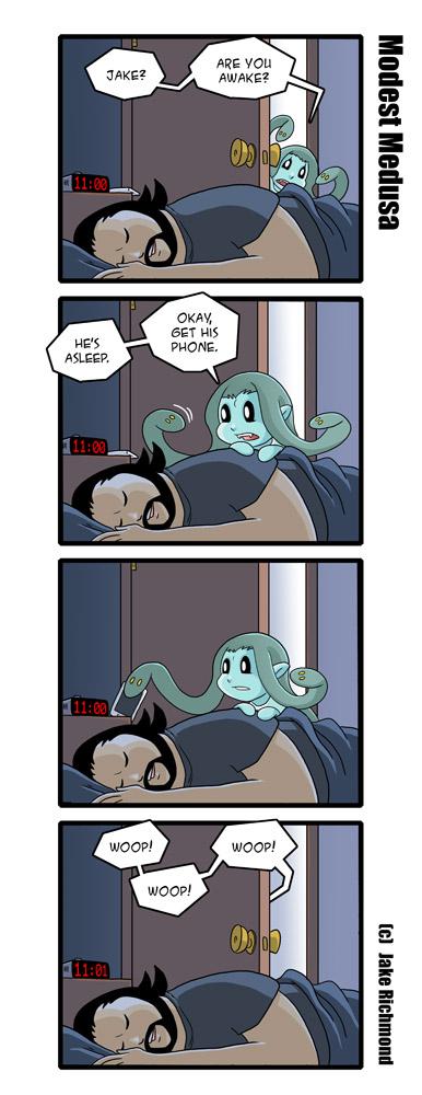 Modest Medusa 438 by JakeRichmond