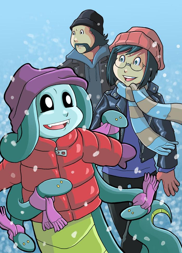 Winter Modest Medusa by JakeRichmond