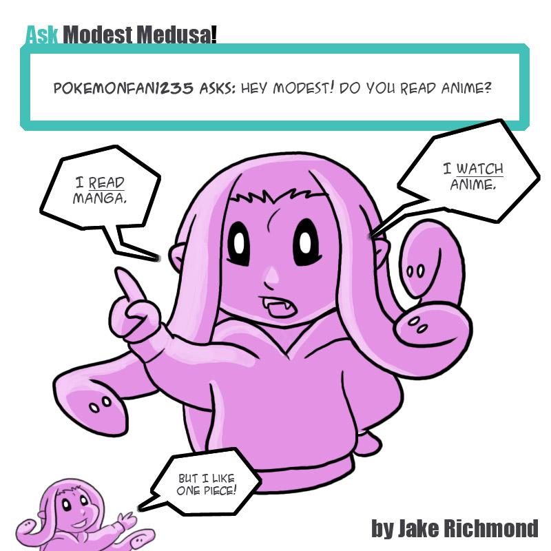 Ask Medusa 008 by JakeRichmond
