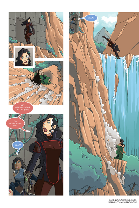Asami Loves Korra: Battle Couple, part 3 by JakeRichmond