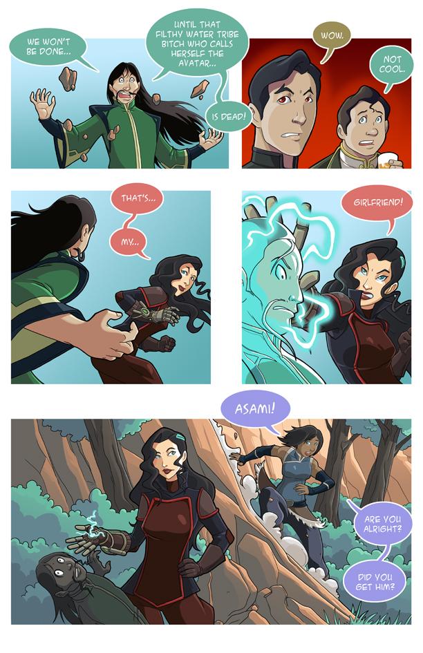 asami loves korra battle couple part 5 by jakerichmond on deviantart