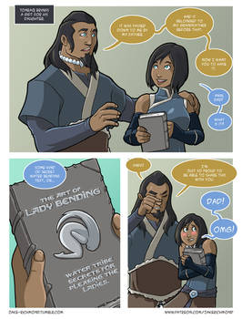 Asami loves Korra: Lady Bending, part 1