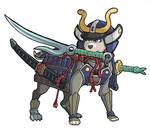 The Magical Land of Yeld Dog Samurai