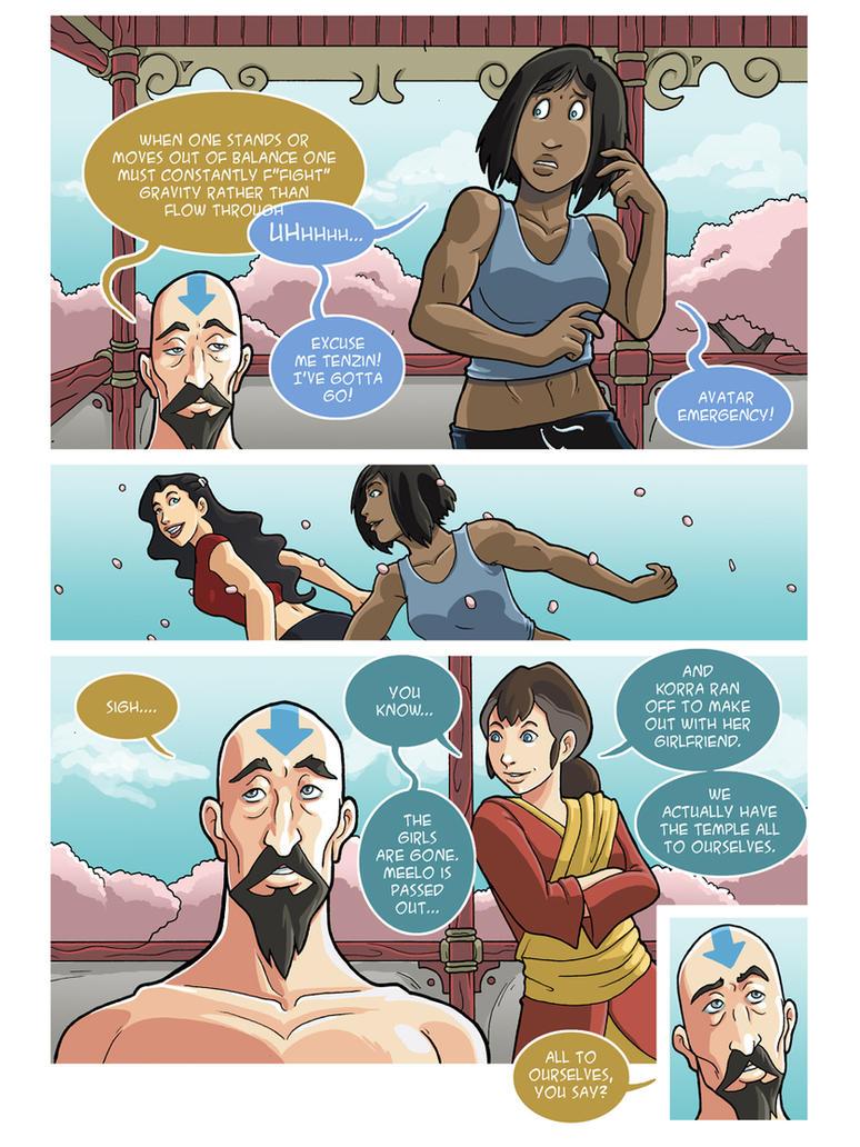 Asami loves Korra: Balance, part 4 by JakeRichmond