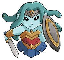 Wonder Woman Modest Medusa