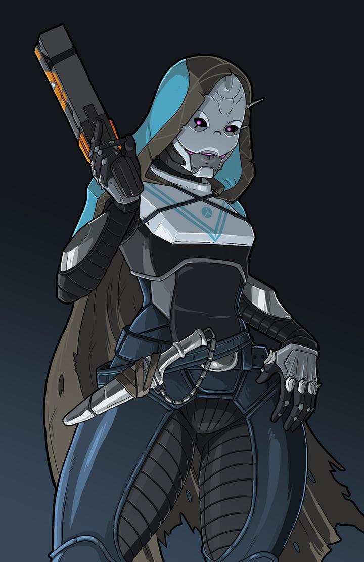 Destiny Exo Hunter by JakeRichmond